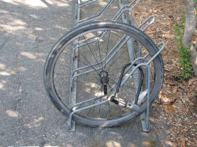 Bike Rack Fail wrong rack FAIL